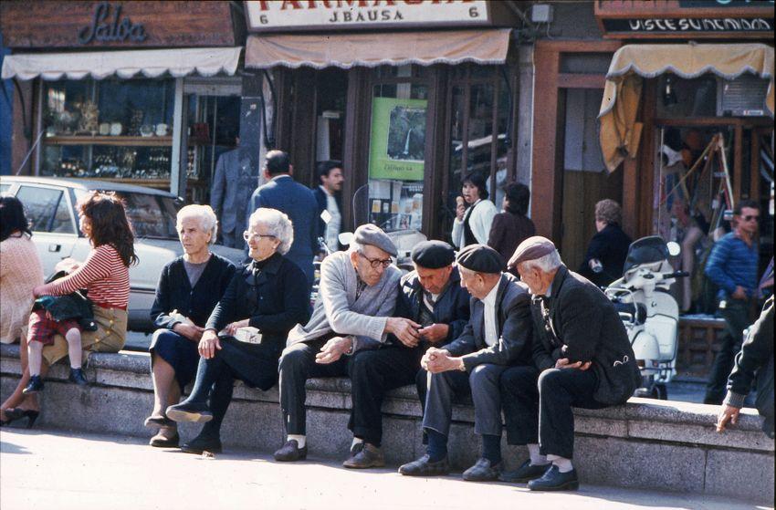 Alte Menschen sind heute weniger einsam als noch vor 20 Jahren, so das Ergebnis einer Max-Planck-Studie (Foto: Michael Simm)